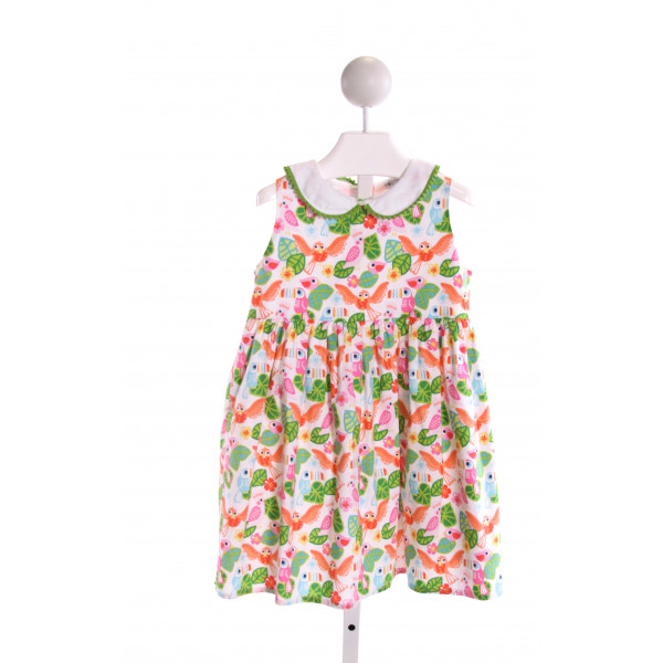 THREAD HEIRLOOM COMPANY  MULTI-COLOR   PRINTED DESIGN DRESS