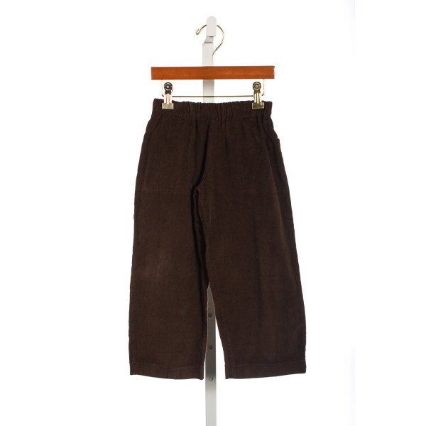 HOLLYWOOD BABY BROWN CORD PANTS