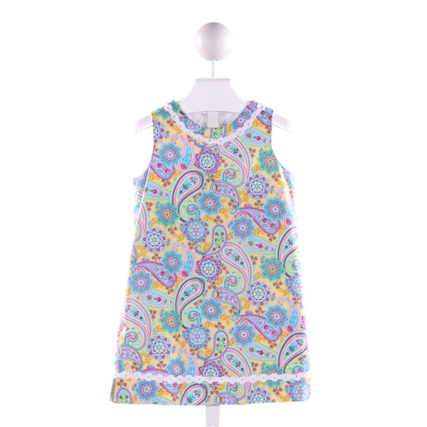 J. BAILEY  MULTI-COLOR  FLORAL PRINTED DESIGN DRESS