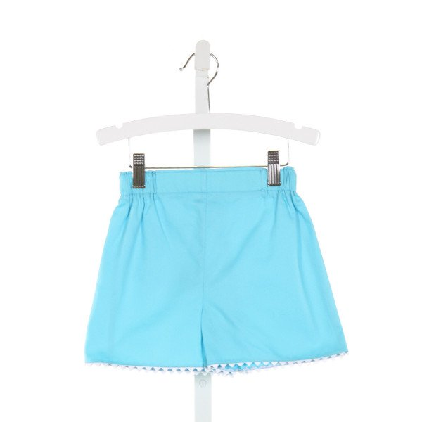 BELLA BLISS  BLUE    SHORTS WITH RIC RAC