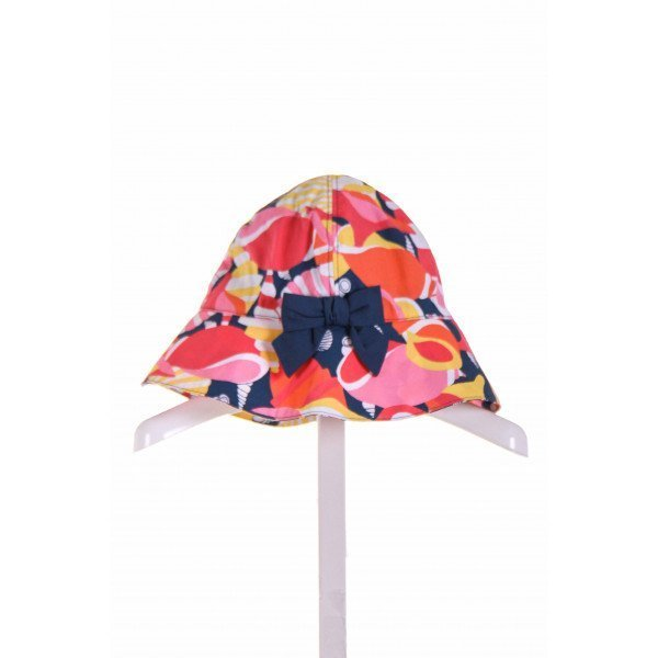 JANIE AND JACK  PINK  FLORAL  ACCESSORIES - HEADWEAR