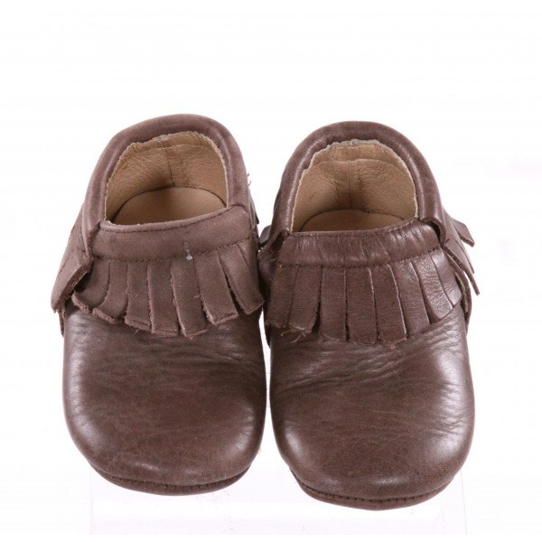 OLD SOLES BROWN SHOES *SIZE 6, VGU - CREASING AND LIGHT SCUFFING
