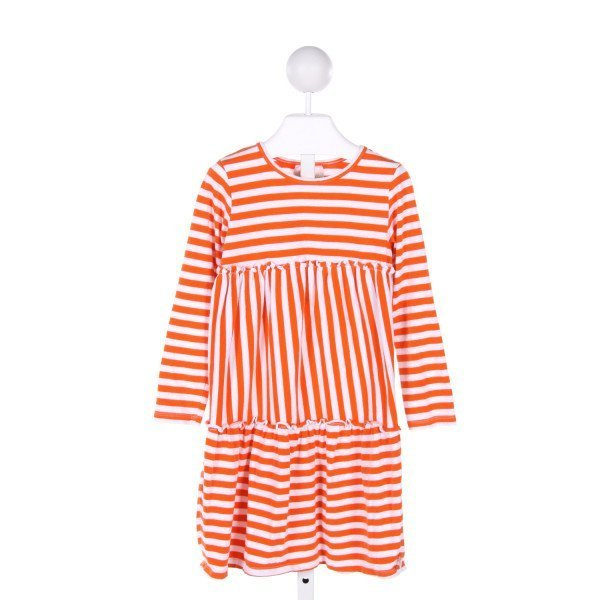 LOLLY WOLLY DOODLE  ORANGE  STRIPED  DRESS