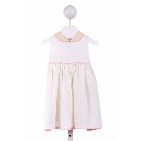 JACK & TEDDY  OFF-WHITE LINEN   CASUAL DRESS