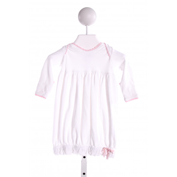 SQUIGGLES  WHITE   EMBROIDERED LAYETTE WITH RUFFLE