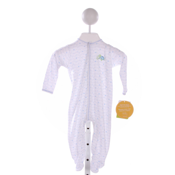 MAGNOLIA BABY  BLUE  PRINT EMBROIDERED LAYETTE