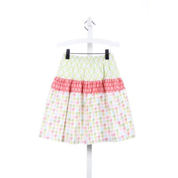 LOLLIPOP LAUNDRY SKIRT WITH PINK, GREEN BLUE AND GREEN DETAILS