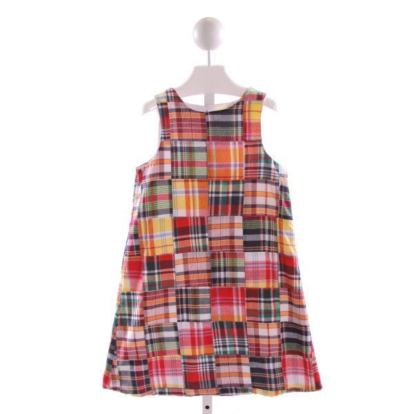 GLORIMONT  MULTI-COLOR  PLAID  DRESS