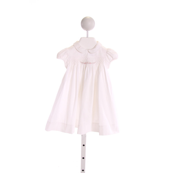 JACADI  WHITE   SMOCKED DRESS