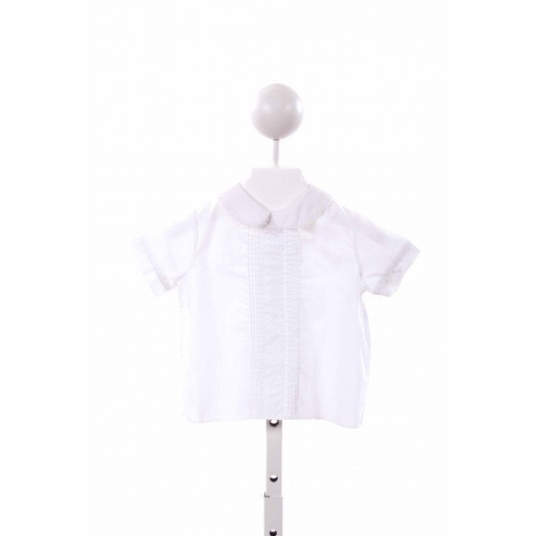 TODDLE TYKE  WHITE    CLOTH SS SHIRT