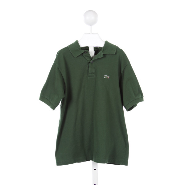 LACOSTE HUNTER GREEN POLO