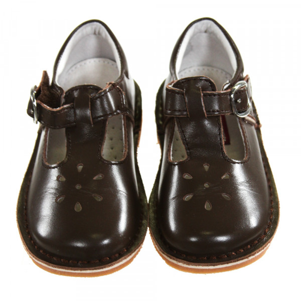 L'AMOUR BROWN SHOES *SIZE TODDLER 7, EUC