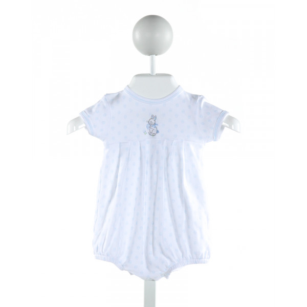 MAGNOLIA BABY  WHITE  PRINT EMBROIDERED BUBBLE