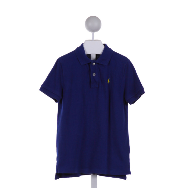 POLO BY RALPH LAUREN  ROYAL BLUE    KNIT SS SHIRT
