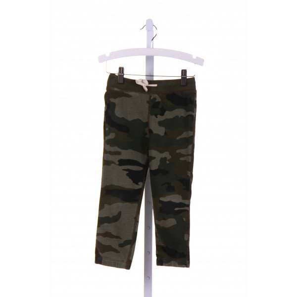 CREWCUTS  GREEN   PRINTED DESIGN PANTS