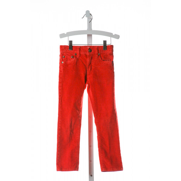 CREWCUTS  RED CORDUROY   PANTS
