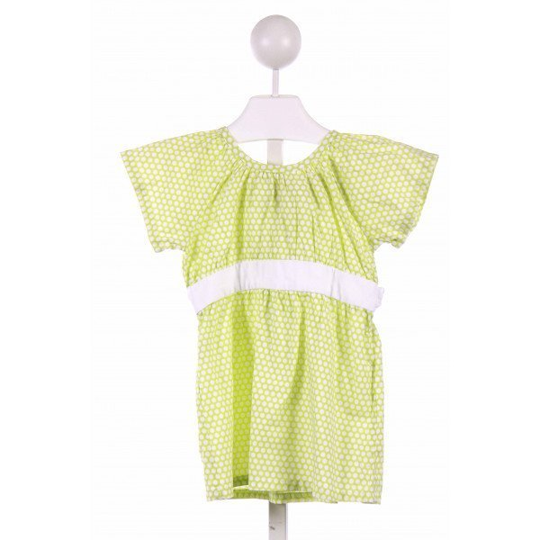 BLOOM  GREEN  POLKA DOT  CLOTH SS SHIRT