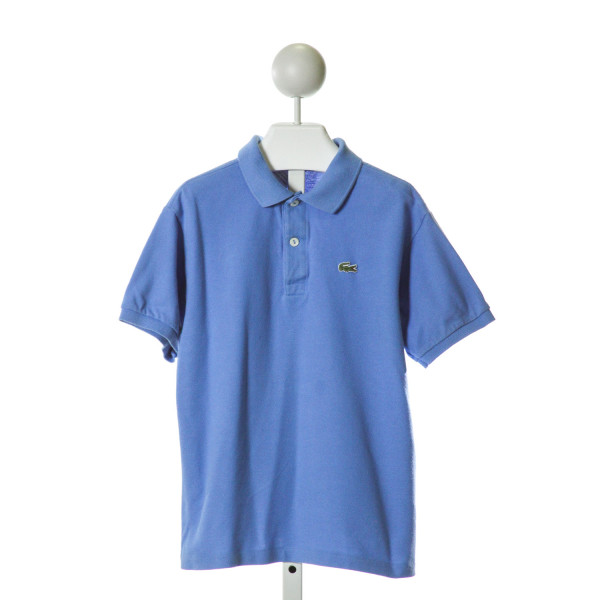 LACOSTE  BLUE    CLOTH SS SHIRT