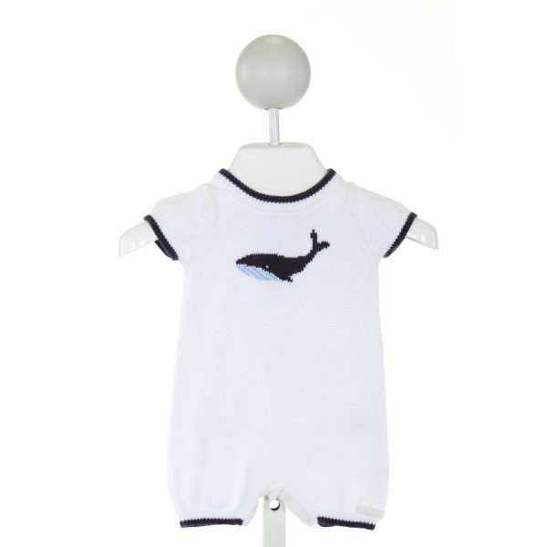JANIE AND JACK  OFF-WHITE   PRINTED DESIGN LAYETTE
