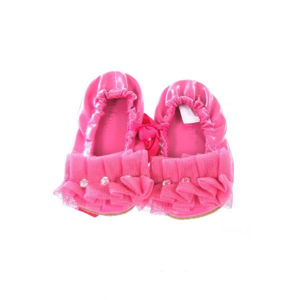 MUD PIE HOT PINK SOFT SHOES INFANT SIZE 2