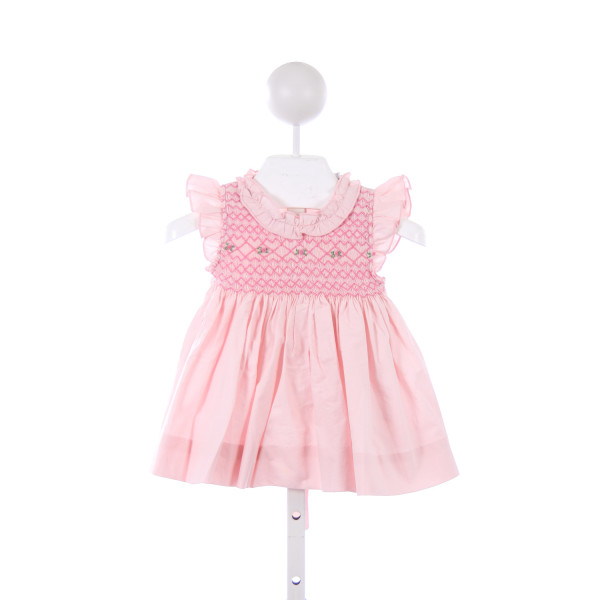 CECIL & LOU PINK SMOCKED DRESS *TINY FAINT SPOT ON FRONT
