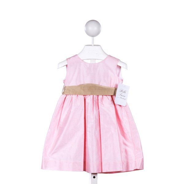 STRASBURG  LT PINK SILK   CASUAL DRESS