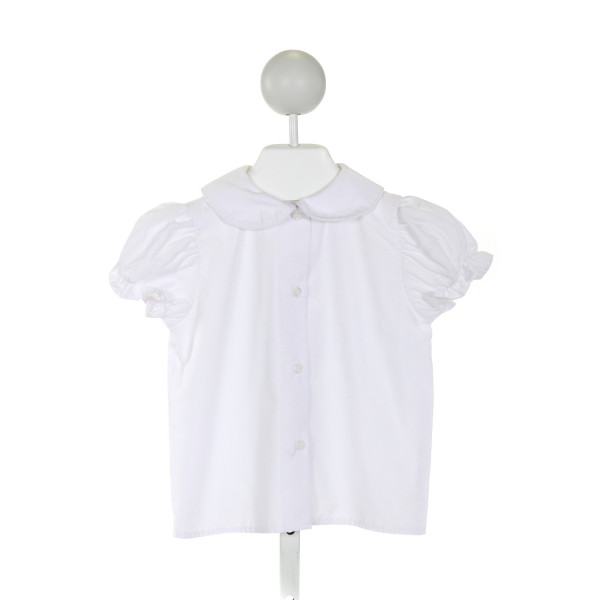 BAILEY BOYS  WHITE    CLOTH SS SHIRT WITH RUFFLE