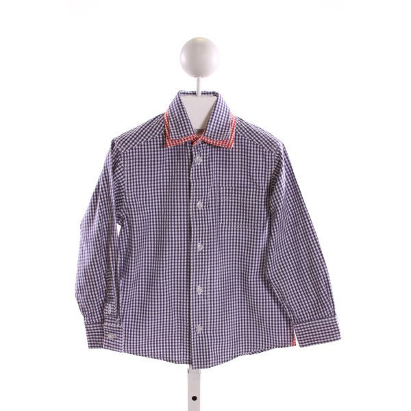 TF LAURENCE  MULTI-COLOR  GINGHAM  CLOTH LS SHIRT