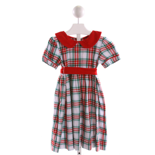 SHRIMP & GRITS  MULTI-COLOR  PLAID  DRESS