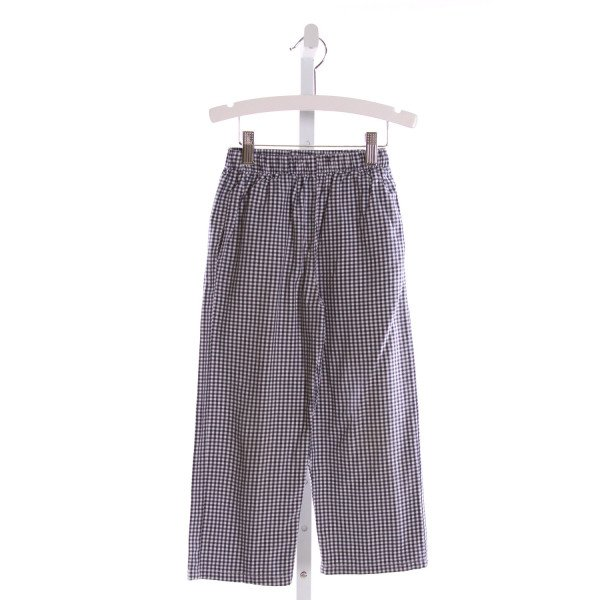 RAGSLAND  ROYAL BLUE  GINGHAM  PANTS