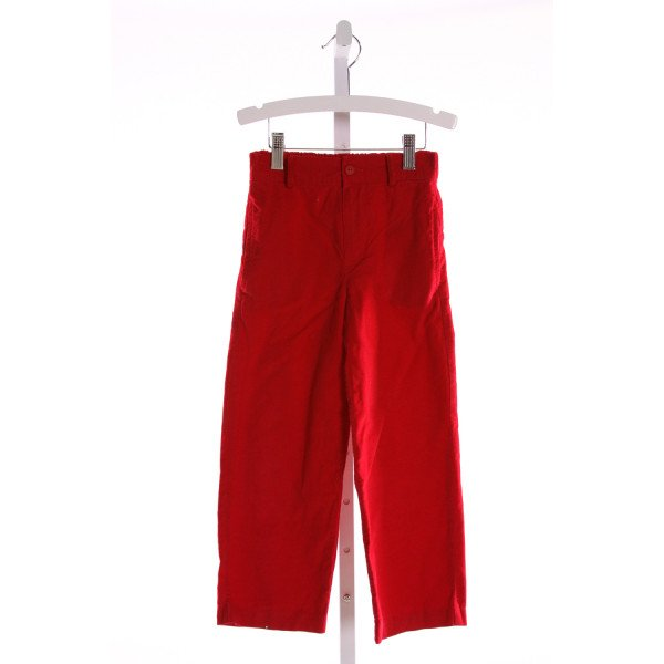 RAGSLAND  RED CORDUROY   PANTS