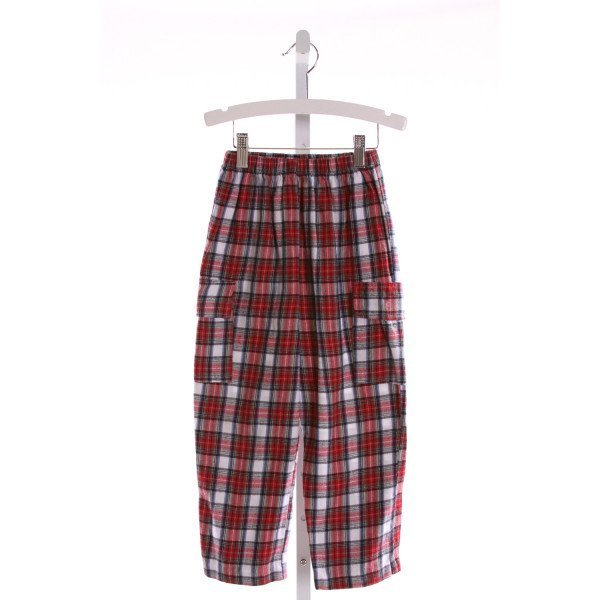RAGSLAND  MULTI-COLOR  PLAID  PANTS