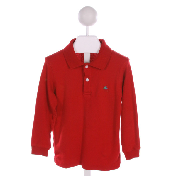 J. BAILEY  RED    KNIT LS SHIRT