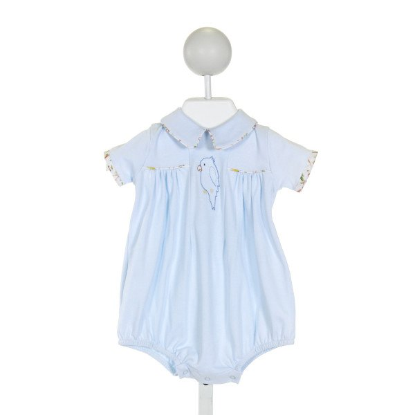 DONDOLO  LT BLUE   EMBROIDERED BUBBLE