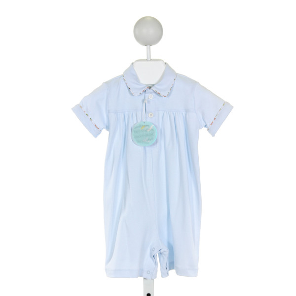 DONDOLO  LT BLUE    KNIT SHORTALL