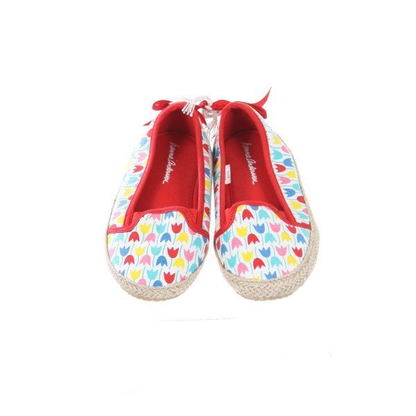 HANNA ANDERSSON TULIP CANVAS SHOES TODDLER SIZE 12