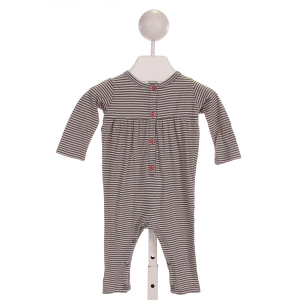 NORDSTROM  GRAY  STRIPED  LAYETTE