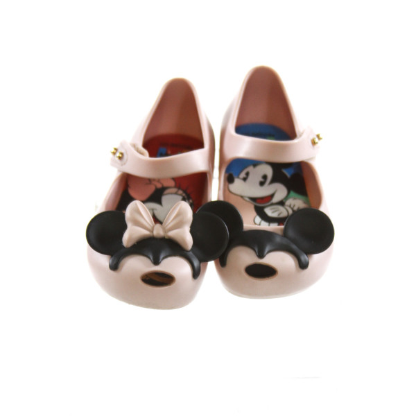MINI MELISSA PINK MICKEY MOUSE SHOES *SIZE 6, VGU - VERY MINOR DISCOLORATION