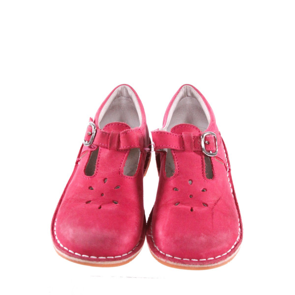 L'AMOUR PINK SHOES *SIZE 12, VGU - MINOR SCUFFING AND FADING AROUND TOE AREA
