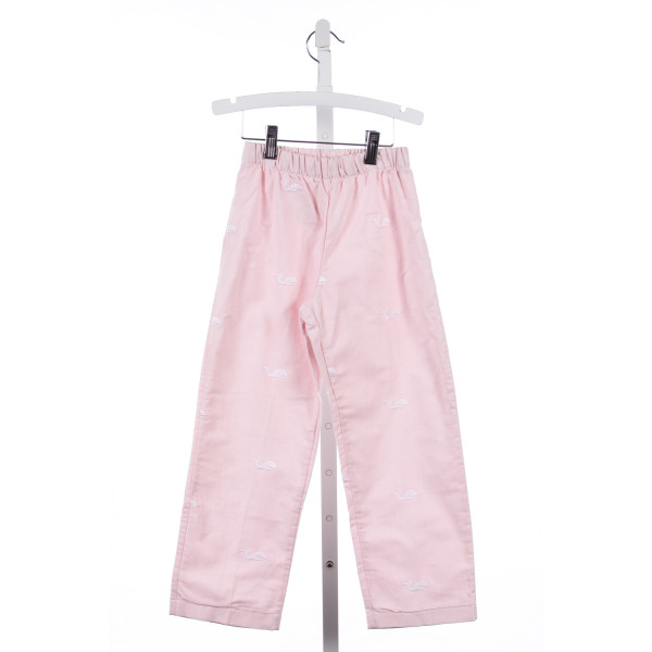 BEST & CO PINK EMBROIDERED WHALES PANTS