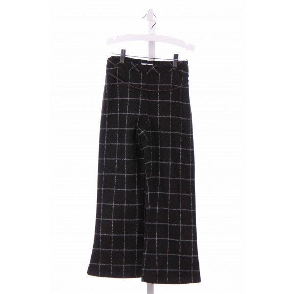 DEUX PAR DEUX  GRAY FLANNEL WINDOWPANE  PANTS