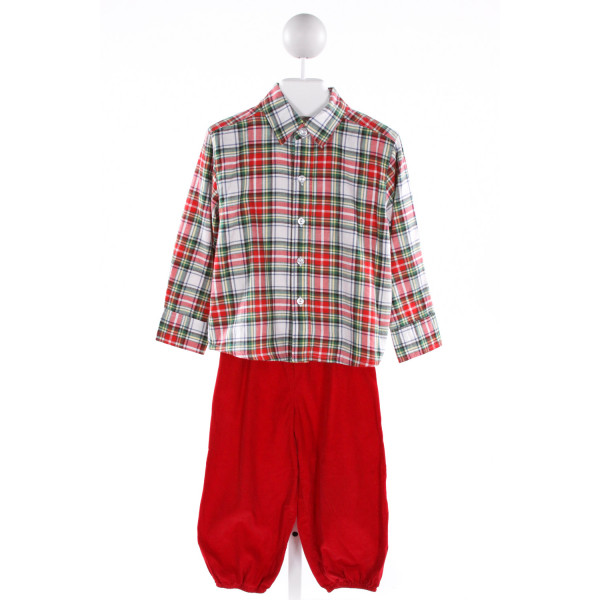 SHRIMP & GRITS  MULTI-COLOR  PLAID  2-PIECE OUTFIT