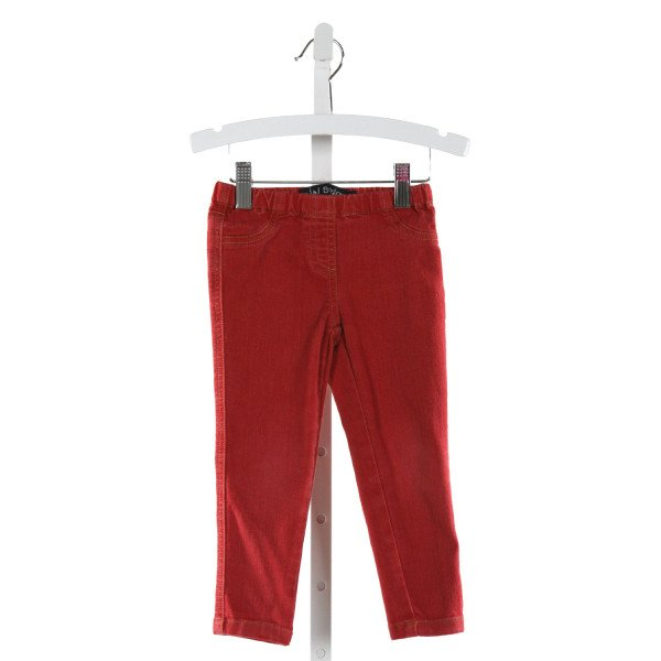 MINI BODEN  RED    PANTS