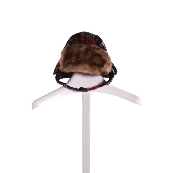 GAP  MULTI-COLOR  PLAID  ACCESSORIES - HEADWEAR