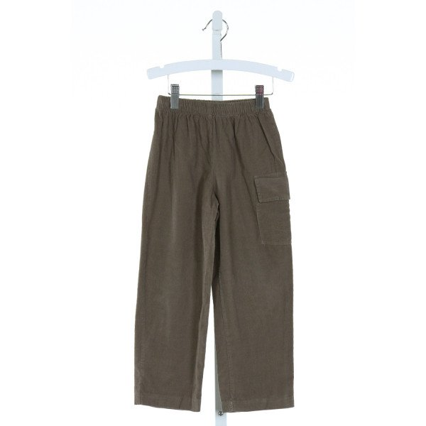 COTTON BLU  GREEN CORDUROY   PANTS
