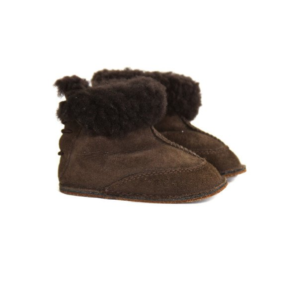 UGG BROWN BOOTS *SIZE SMALL = APPROX 2-3, VGU - LIGHT WEAR