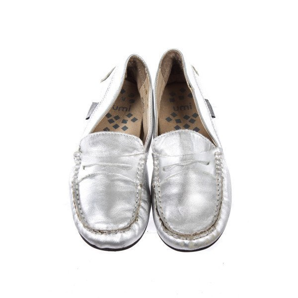 UMI SILVER LOAFERS TODDLER SIZE 12 *LIGHT WEAR