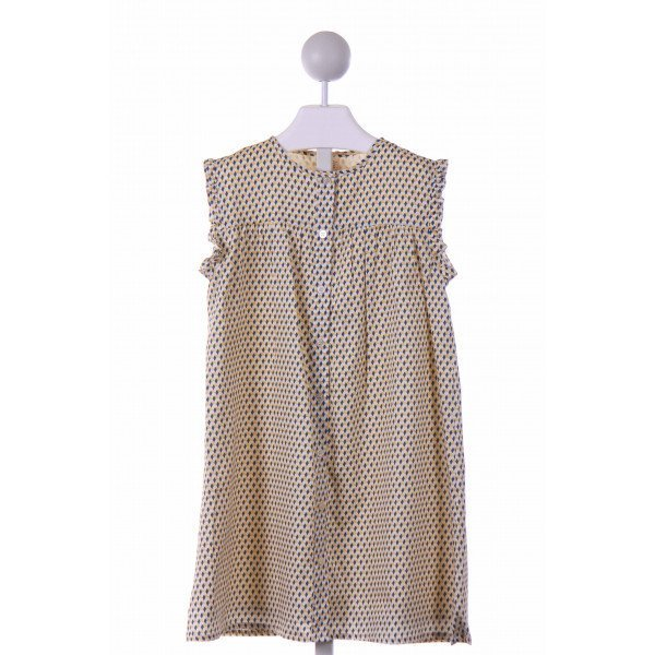 OLIVE JUICE  YELLOW    CASUAL DRESS