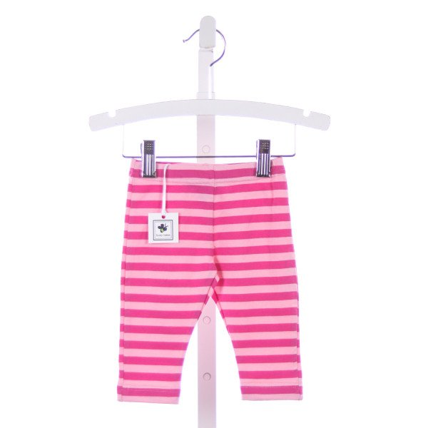 BUSY BEES PINK STRIPED LEGGINGS