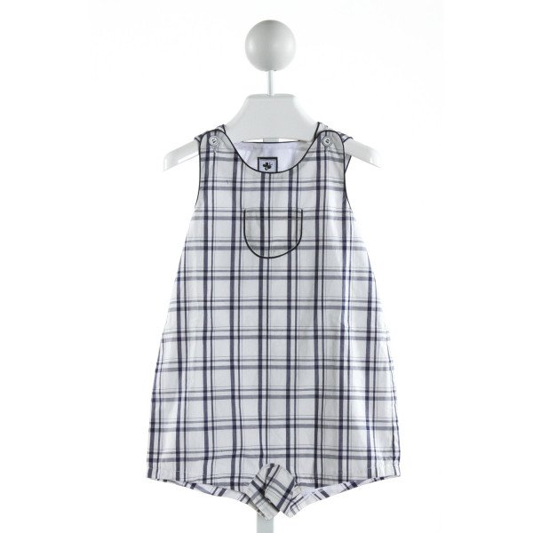 BUSY BEES  BLUE  PLAID  JOHN JOHN/ SHORTALL